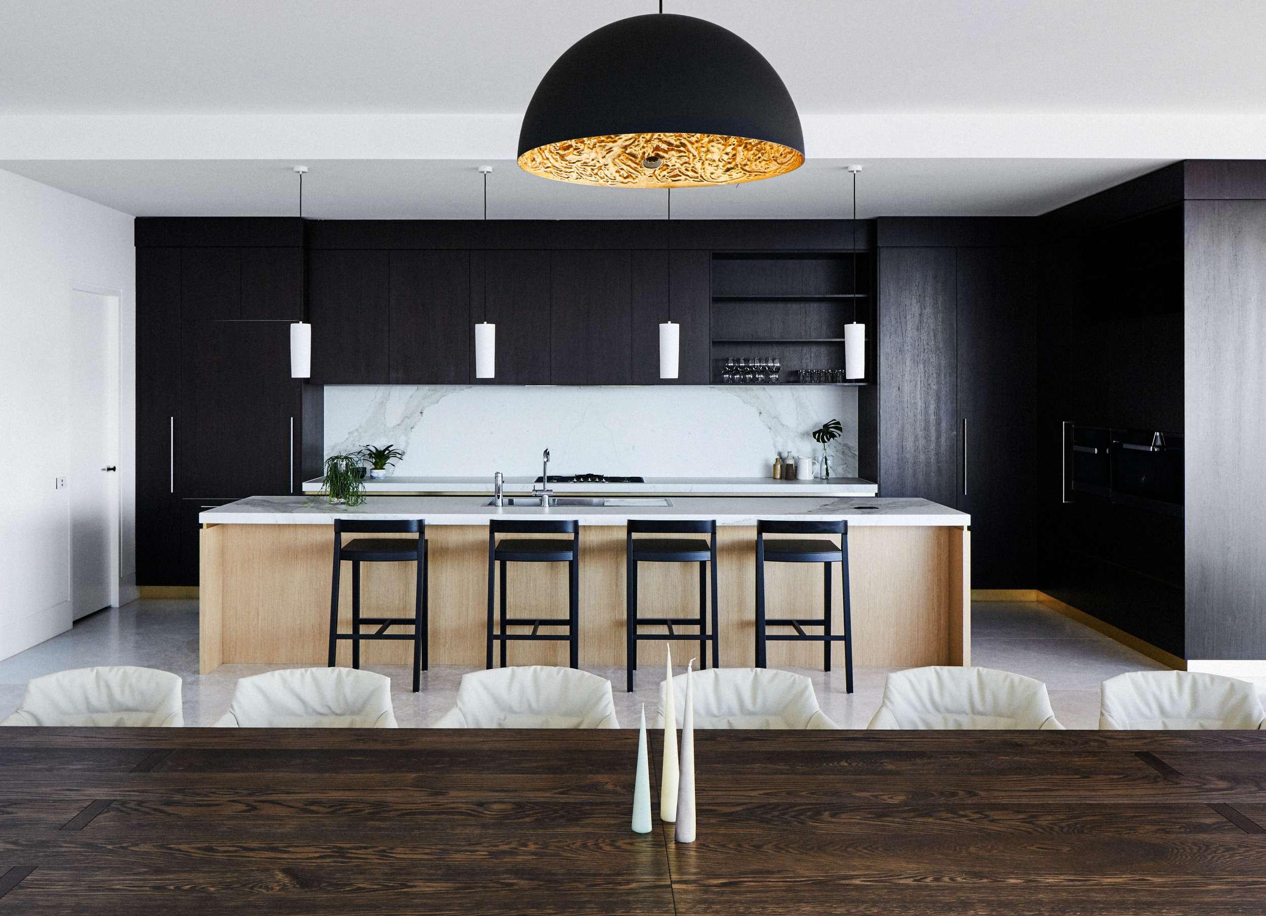 Southbank apartment design, Melbourne, interior decoration kitchen.jpg