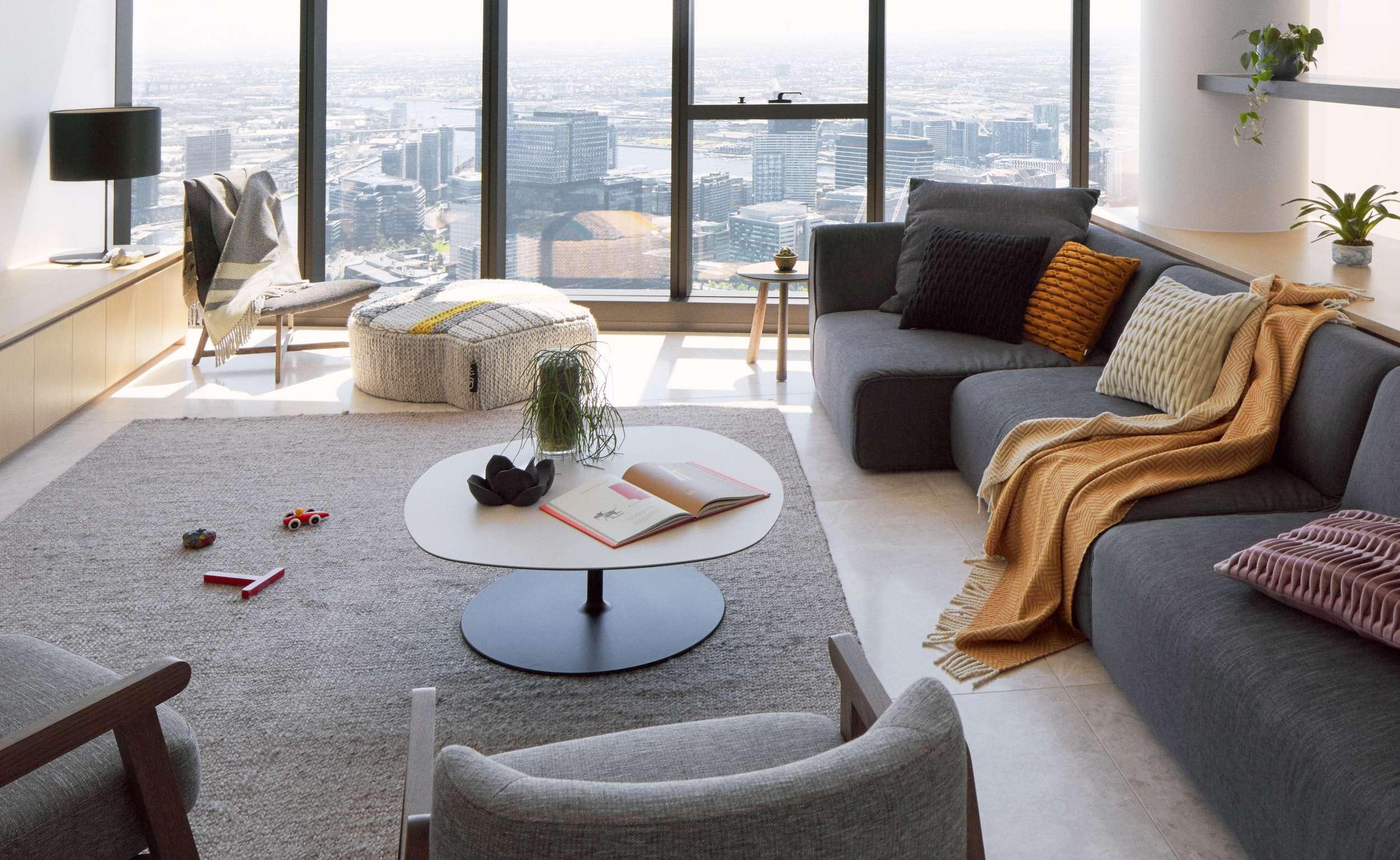 Southbank interior design apartment, living room, Melbourne.jpg
