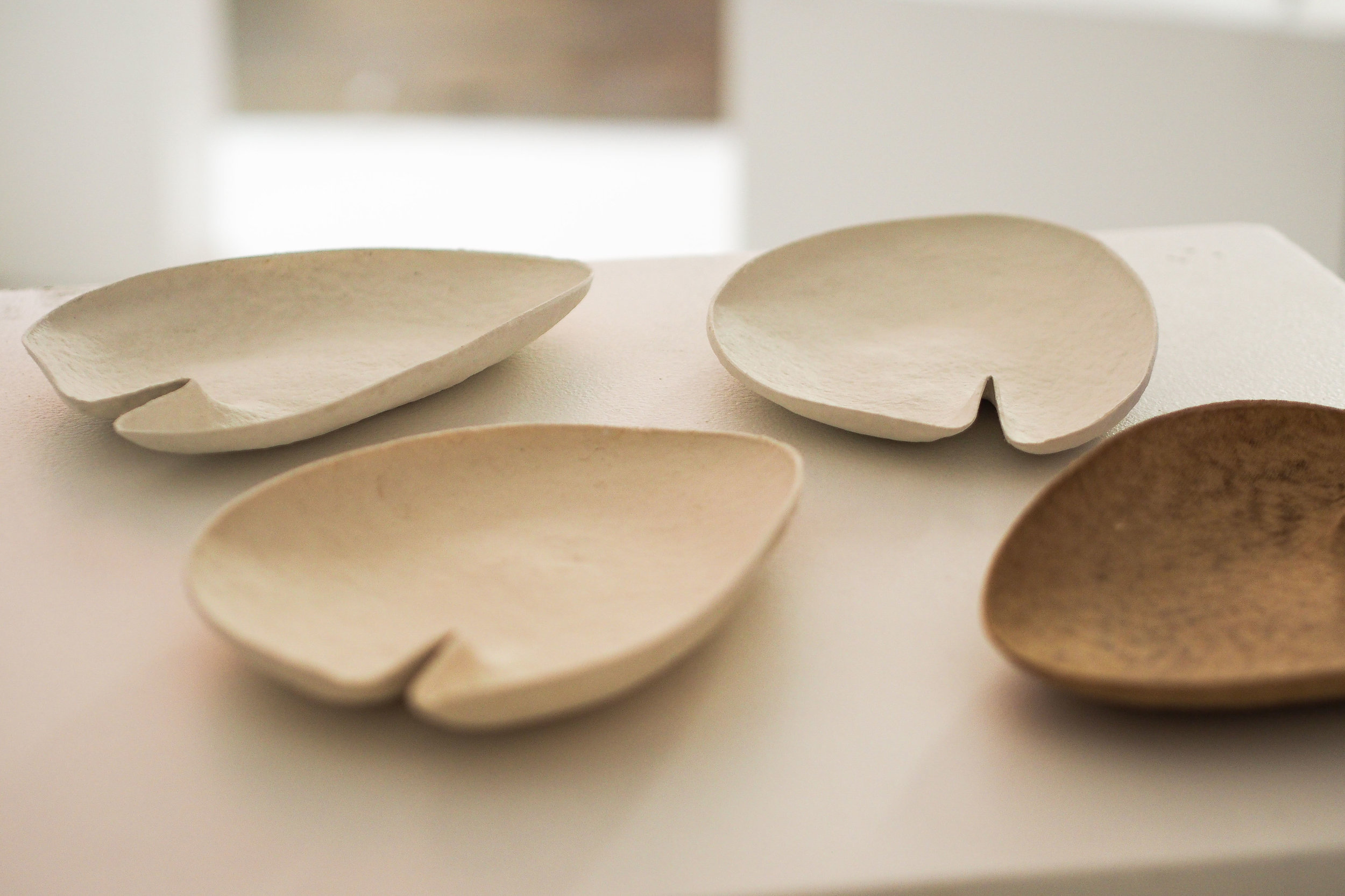 'Lirio' plates by Charles Wilson