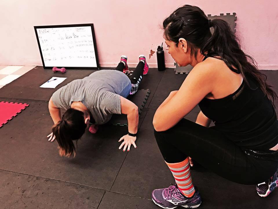 Work with a certified personal trainer Monday - Saturday - All women group training led by women trainers