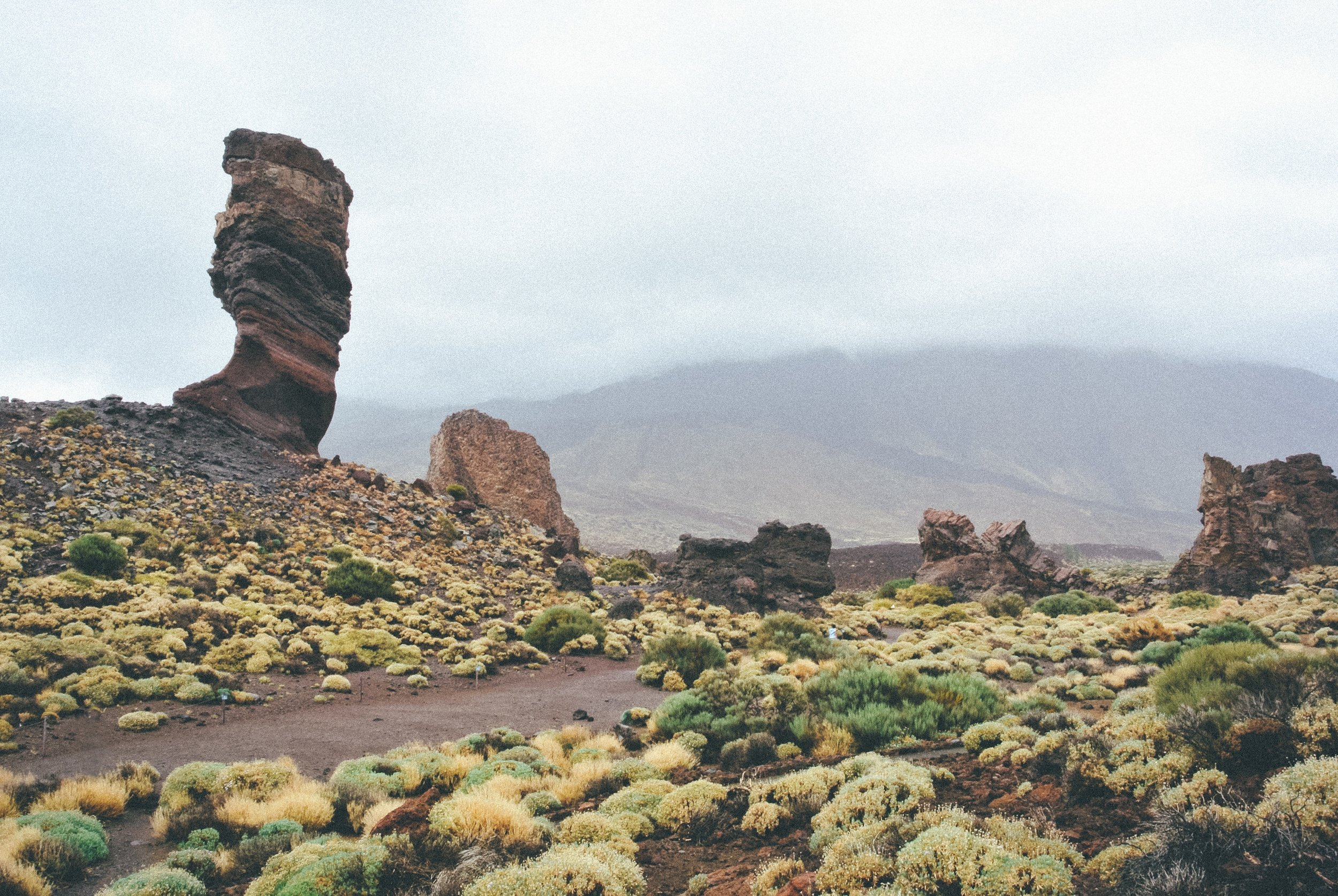 Above: Rugged Tenerife features the highest point of Spain.