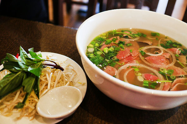 Warm up with a steamy Than Thy Vietnamese soup after Yamnuska Sanctuary.