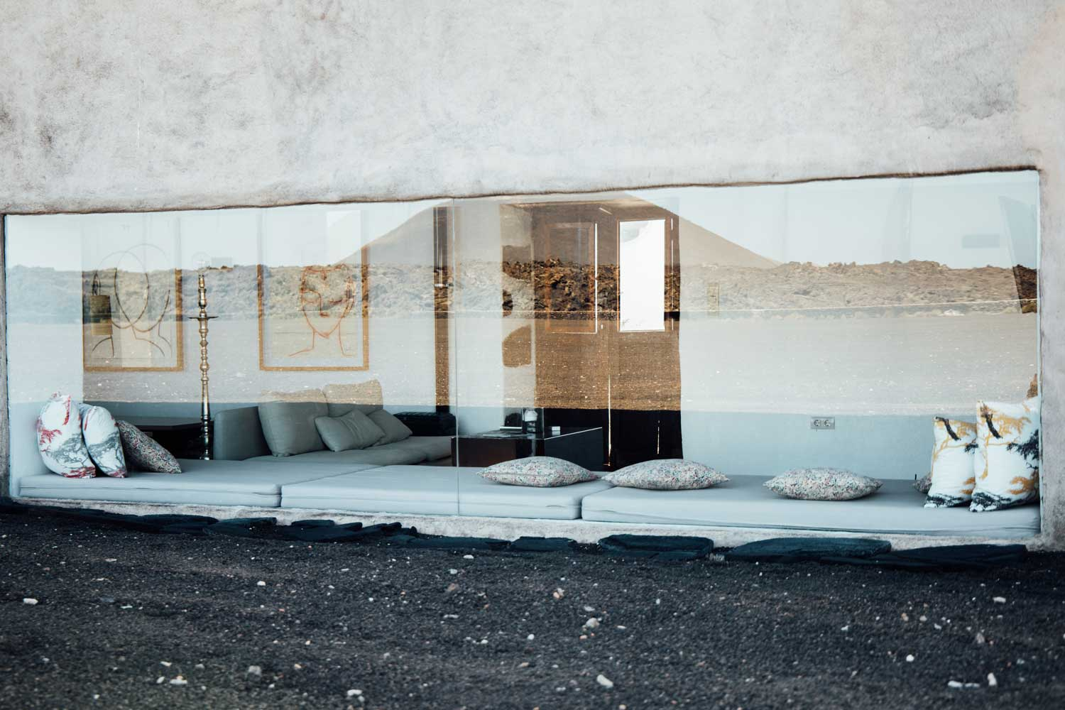 The layout mirroring the breathtaking volcanic landscape at Buena Vista Country Suites, Lanzarote.