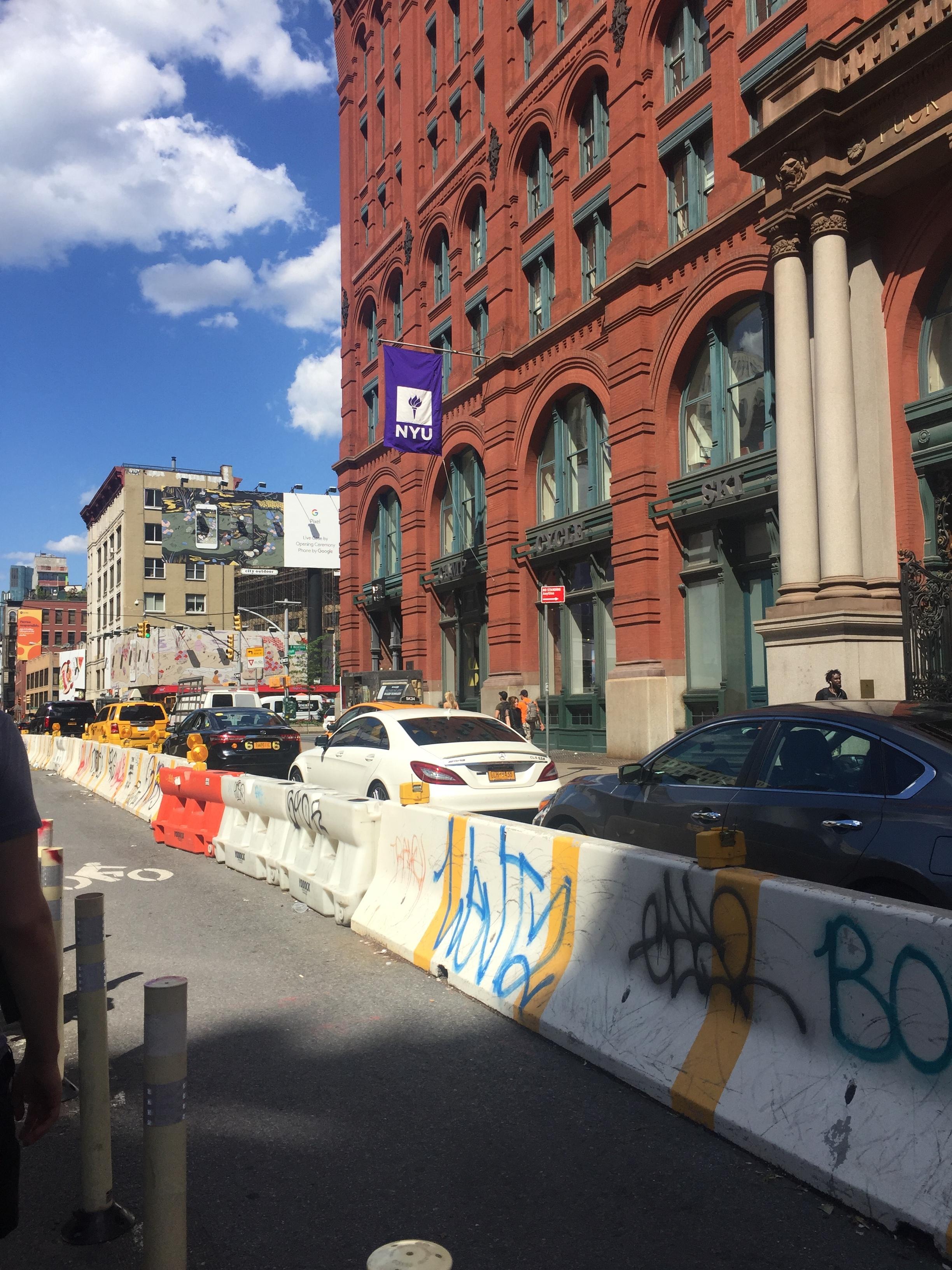 Street view of SoHo