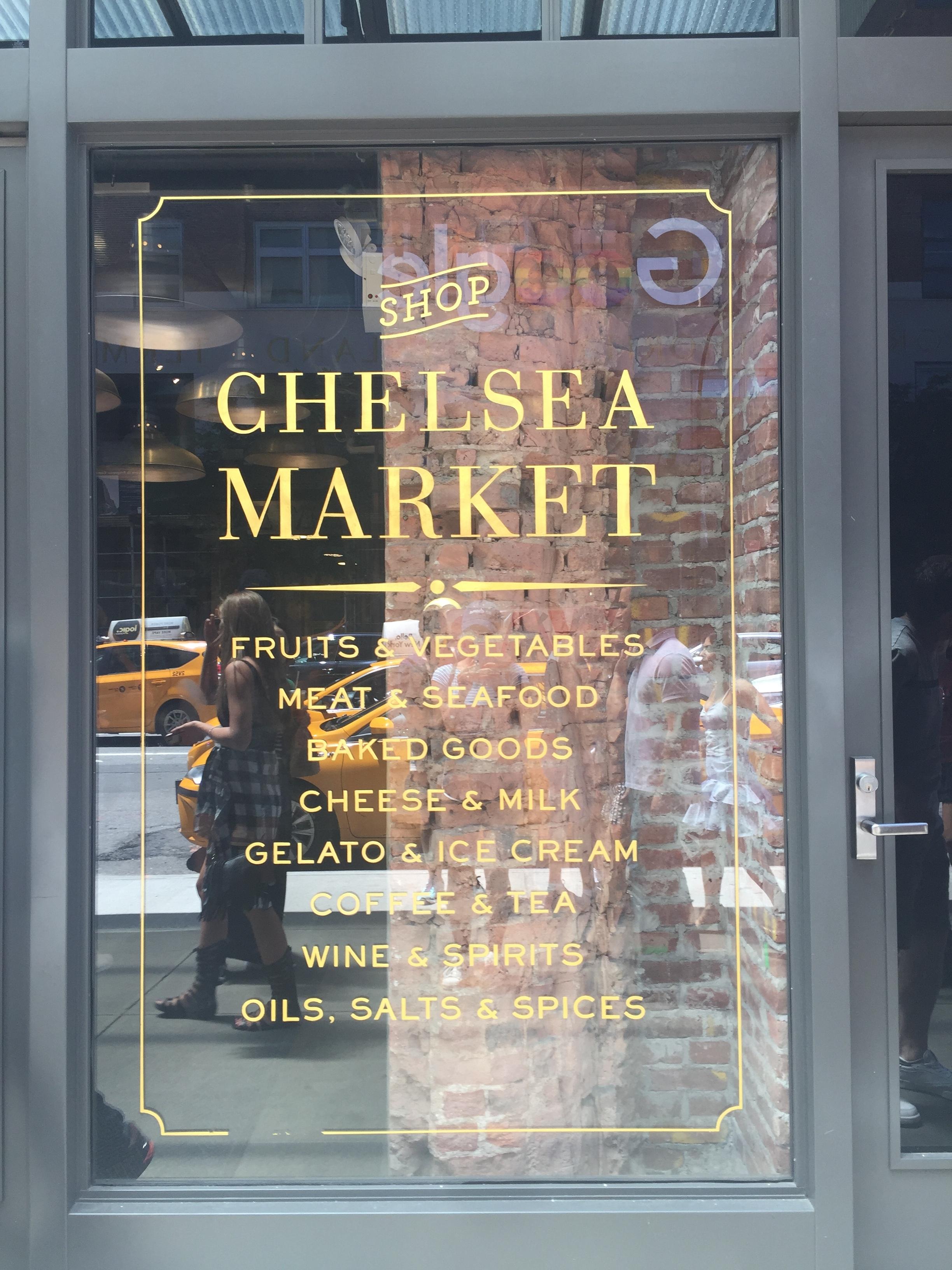 Chelsea Market Window