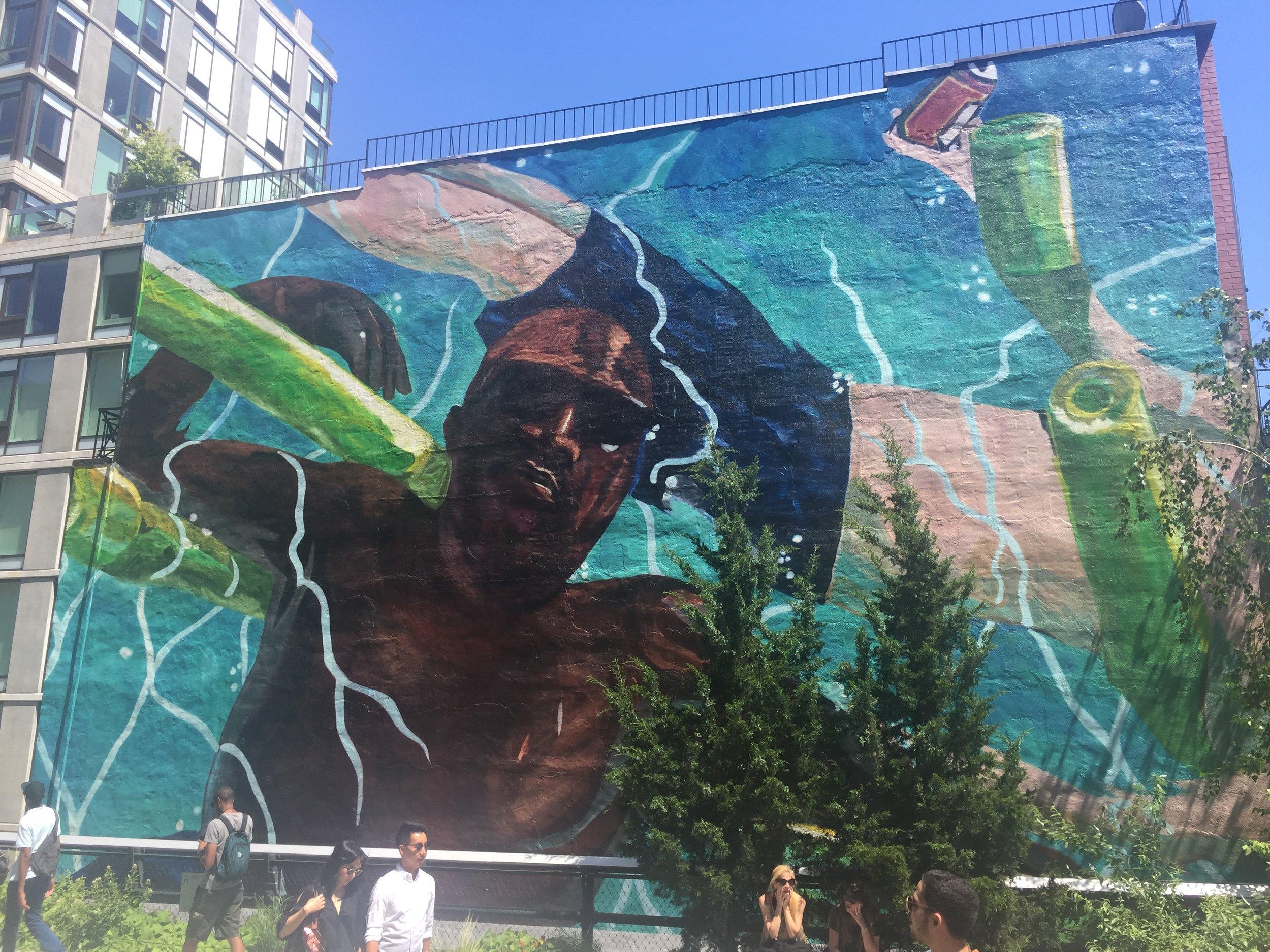 Highline Mural