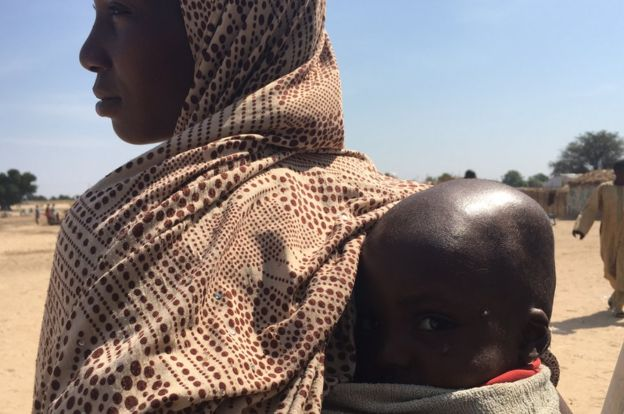 Abdullahi飽受營養不良之苦。圖:取自BBC網站。