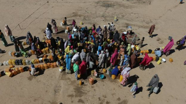 聯合國指出,上百萬人急需食物援助。圖:取自BBC網站。