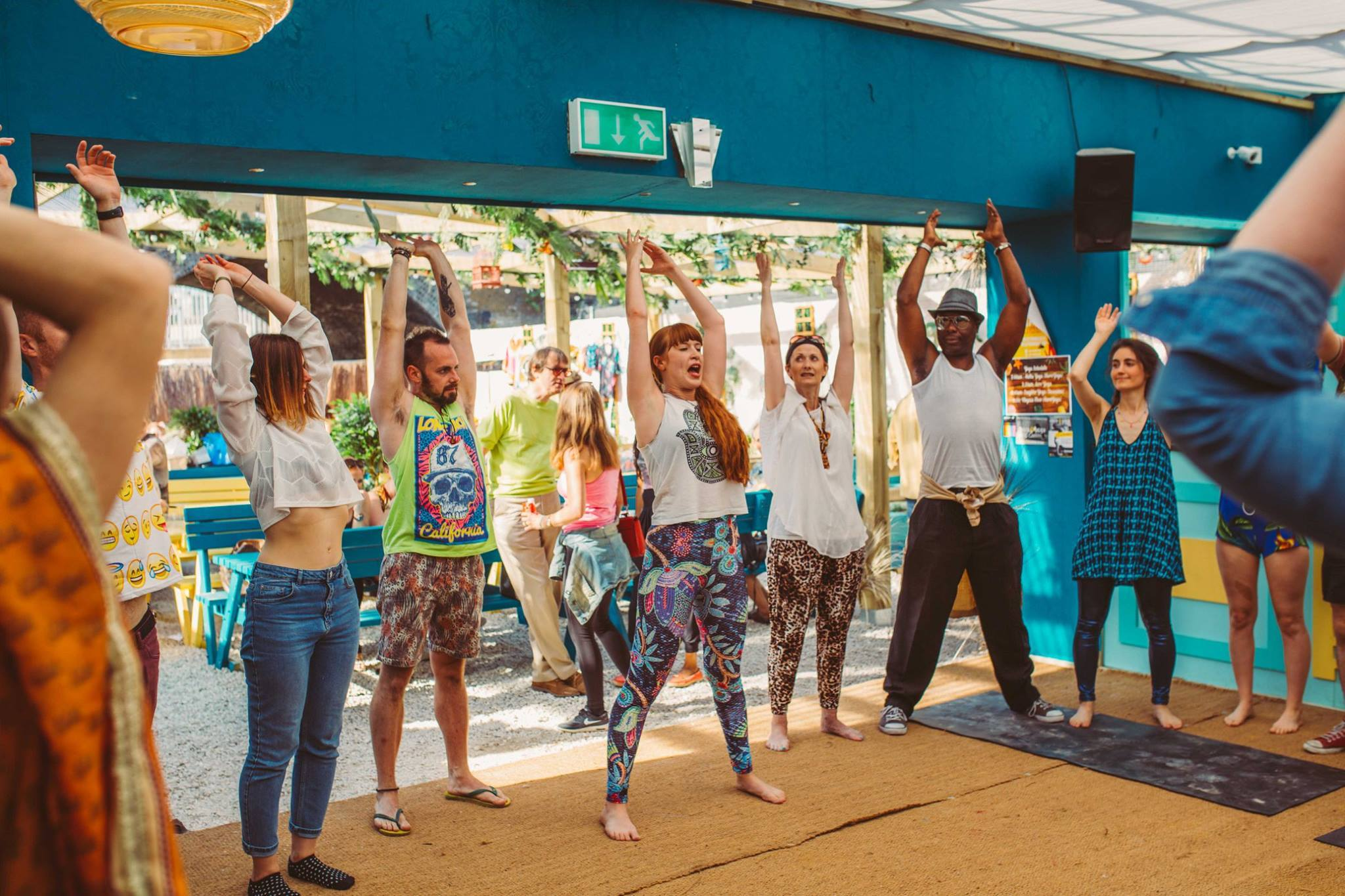 Laughter Yoga at Transition Chelmsford