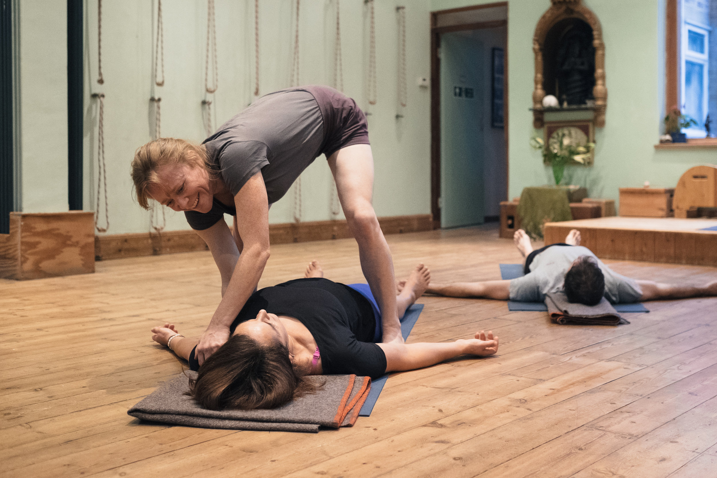 Classes for beginners through to experienced yoga practioners