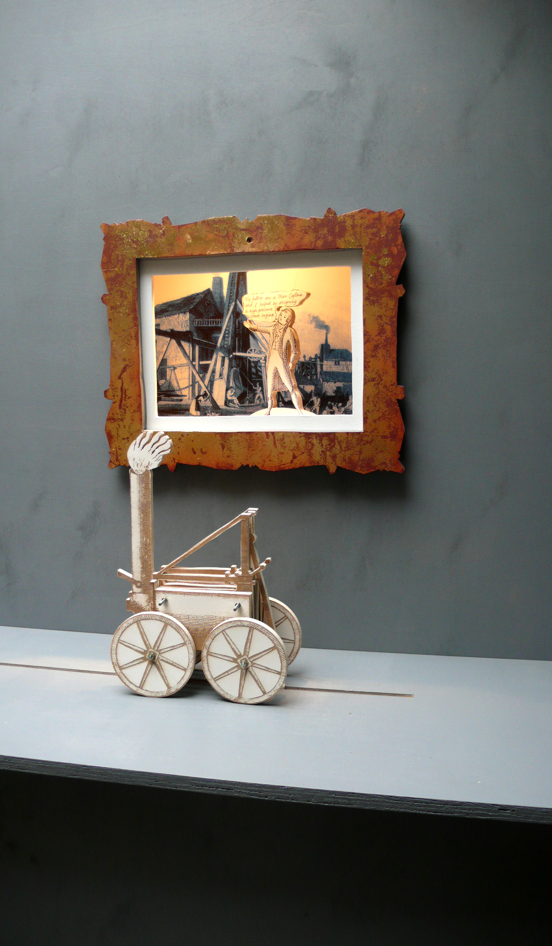 Trevithick  Interacative Installation exploring the life and legacy of Richard Trevithick