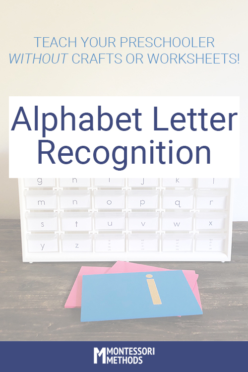 HOW TO: Alphabet letter recognition without crafts or worksheets! #alphabetactivities #letterrecognition
