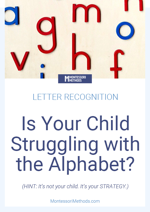 THIS is why your toddler or preschooler is struggling with letter recognition. #alphabetactivities #totschool