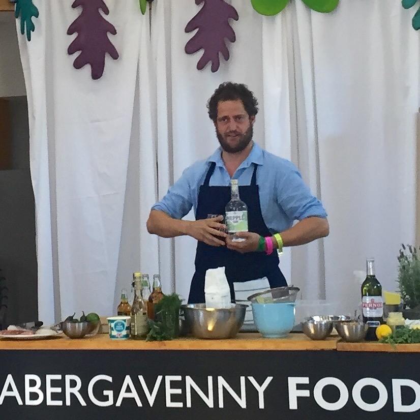 Valentine Warner Abergavenny Food Festival