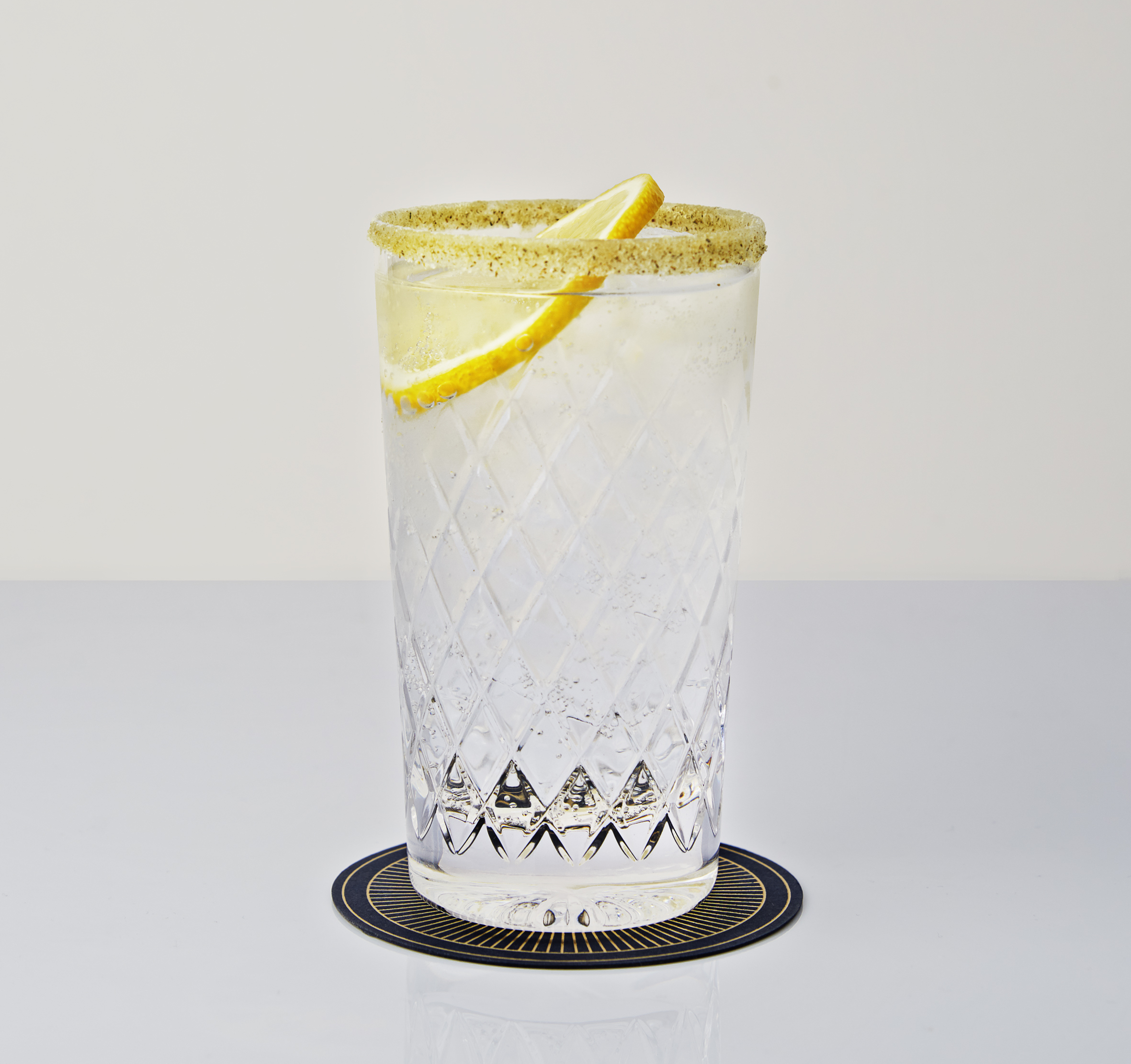 Hepple Gin and tonic
