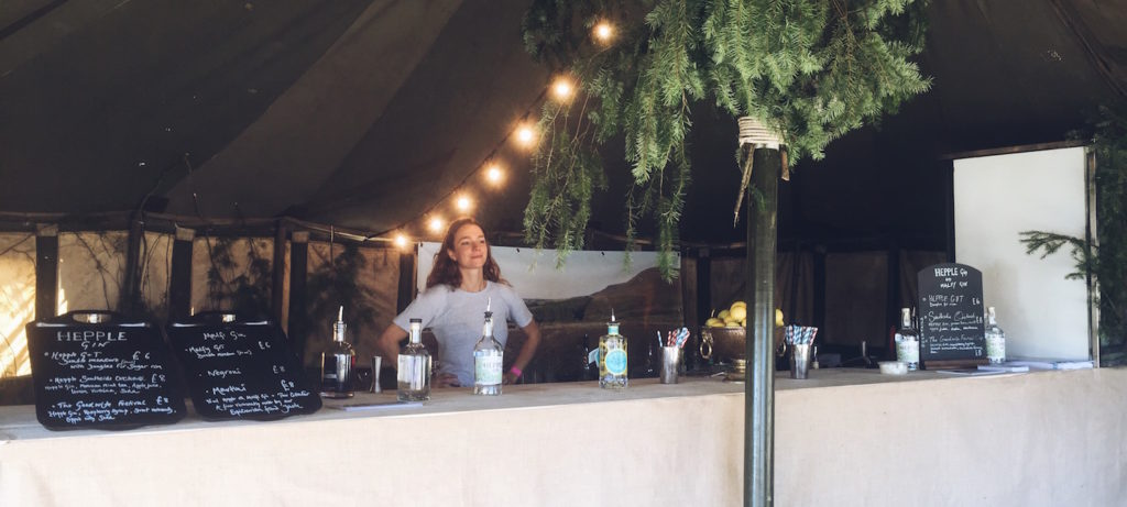 HEPPLE FESTIVAL FUN AT THE GOOD LIFE EXPERIENCE AND ABERGAVENNY    SEPTEMBER 30, 2016