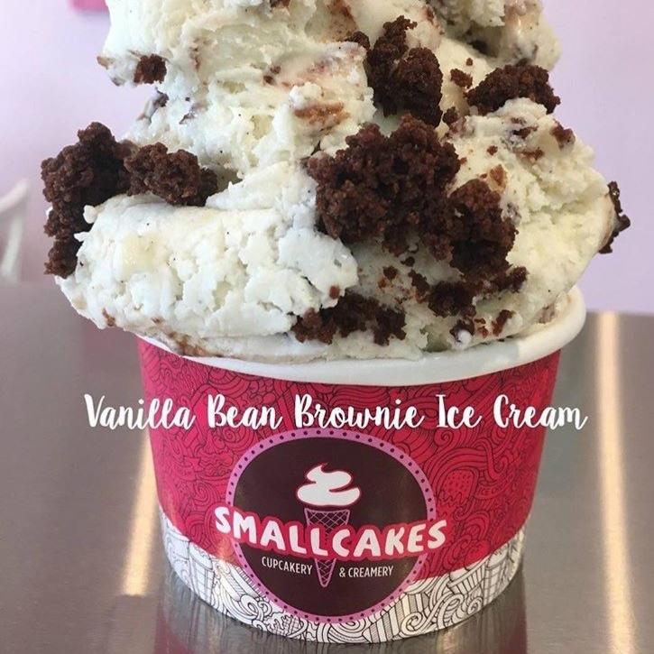 Ice cream from SmallCakes Cupcakery and Creamery