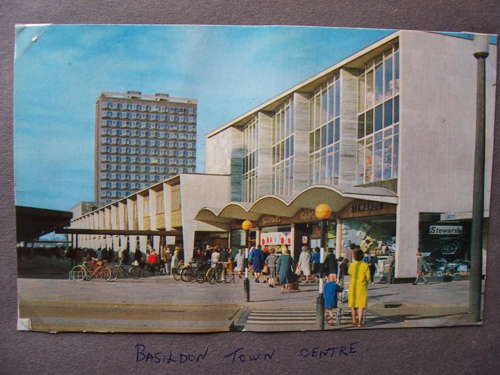 Basildon's futuristic new town centre
