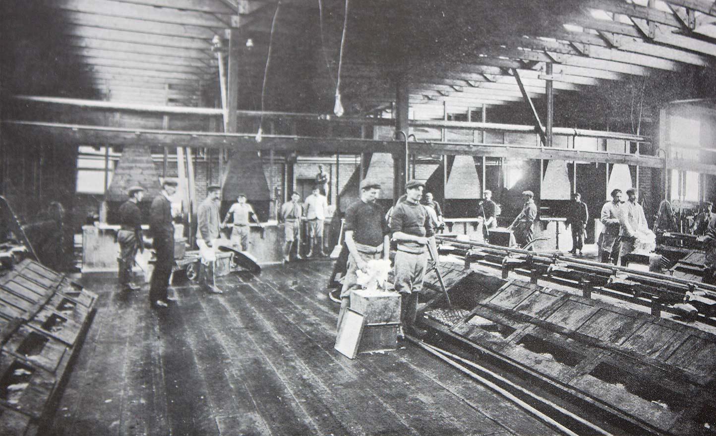 Guncotton drying