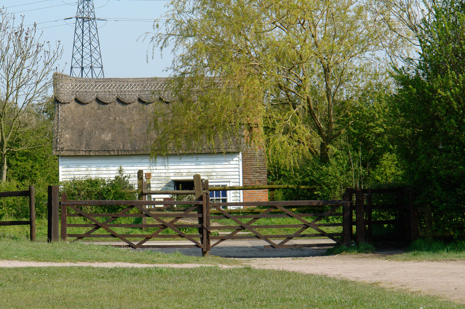 Coopers Cottage, just off the Village Green is the base for Arts Labyrinth at Wat Tyler