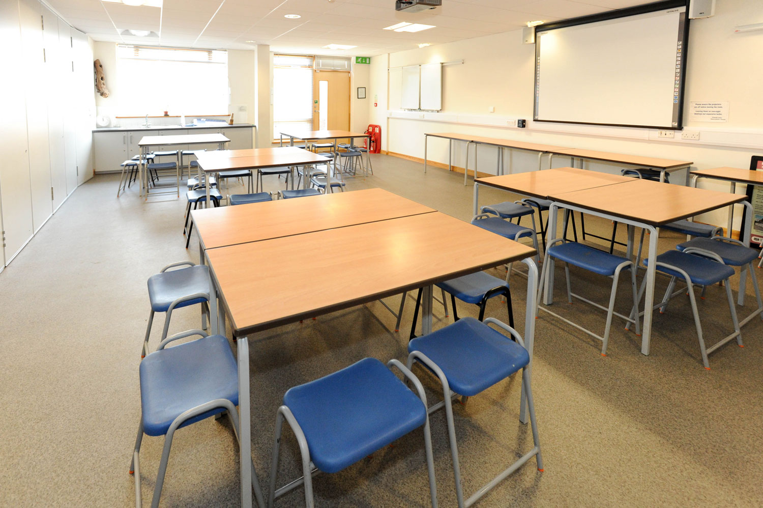 One of three classrooms in our education suite at the Wat Tyler centre