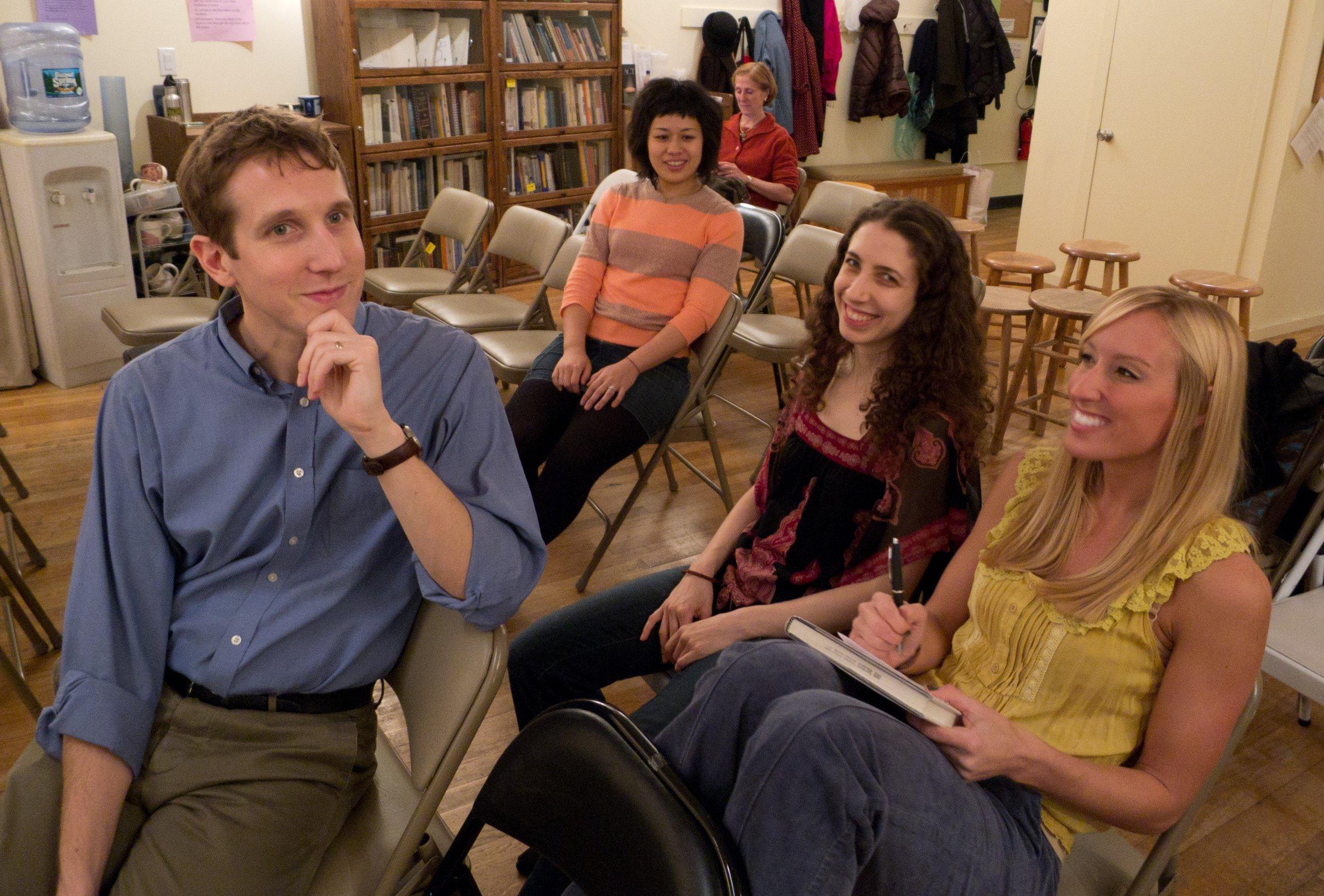 Dan Cayer, Morgan Rysdon-Moulitsas, Anastasia Pridlides, Kimiko Kitano (Claudia Wald background).jpg