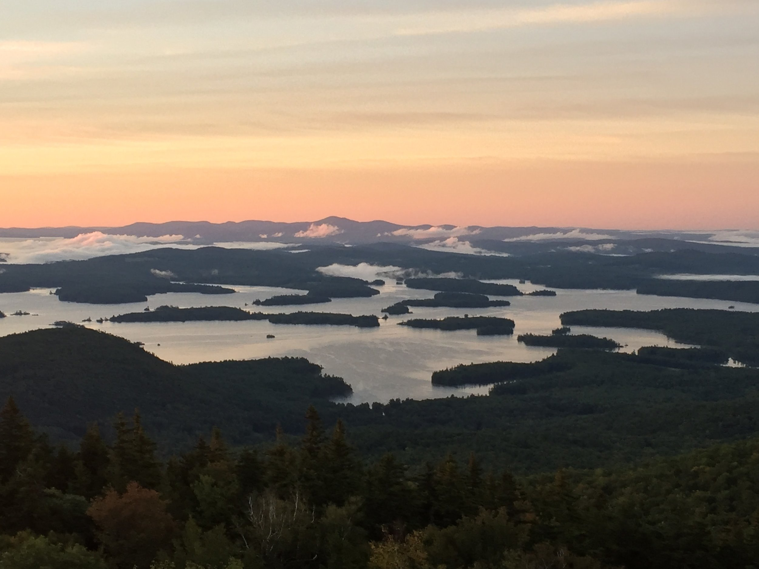 Located in the heart of the Lakes Region - View of Squam Lake- 10 minutes from our facility in Holderness, New Hampshire.