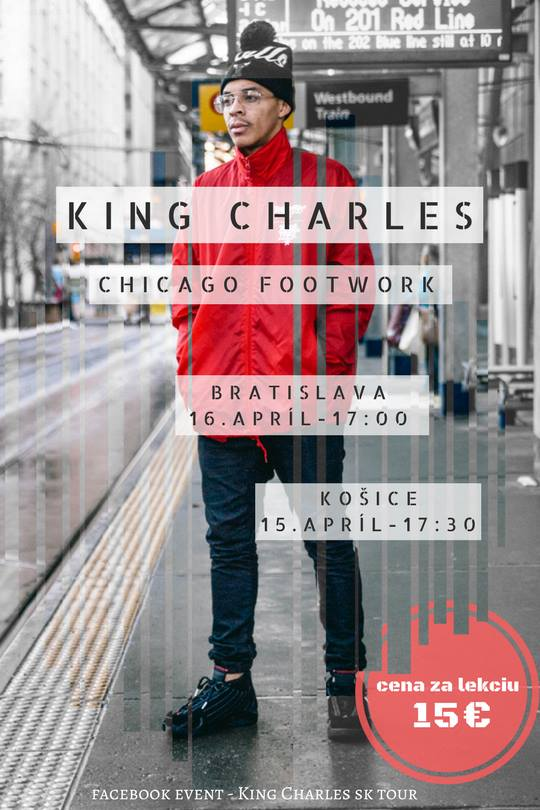 King Charles ws in Slovakia