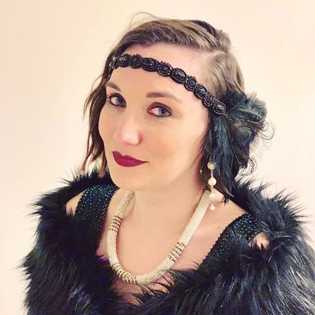 I scrub up okay sometimes 😬 . #1920s #FlapperGirl #Flapper #ChristmasParty