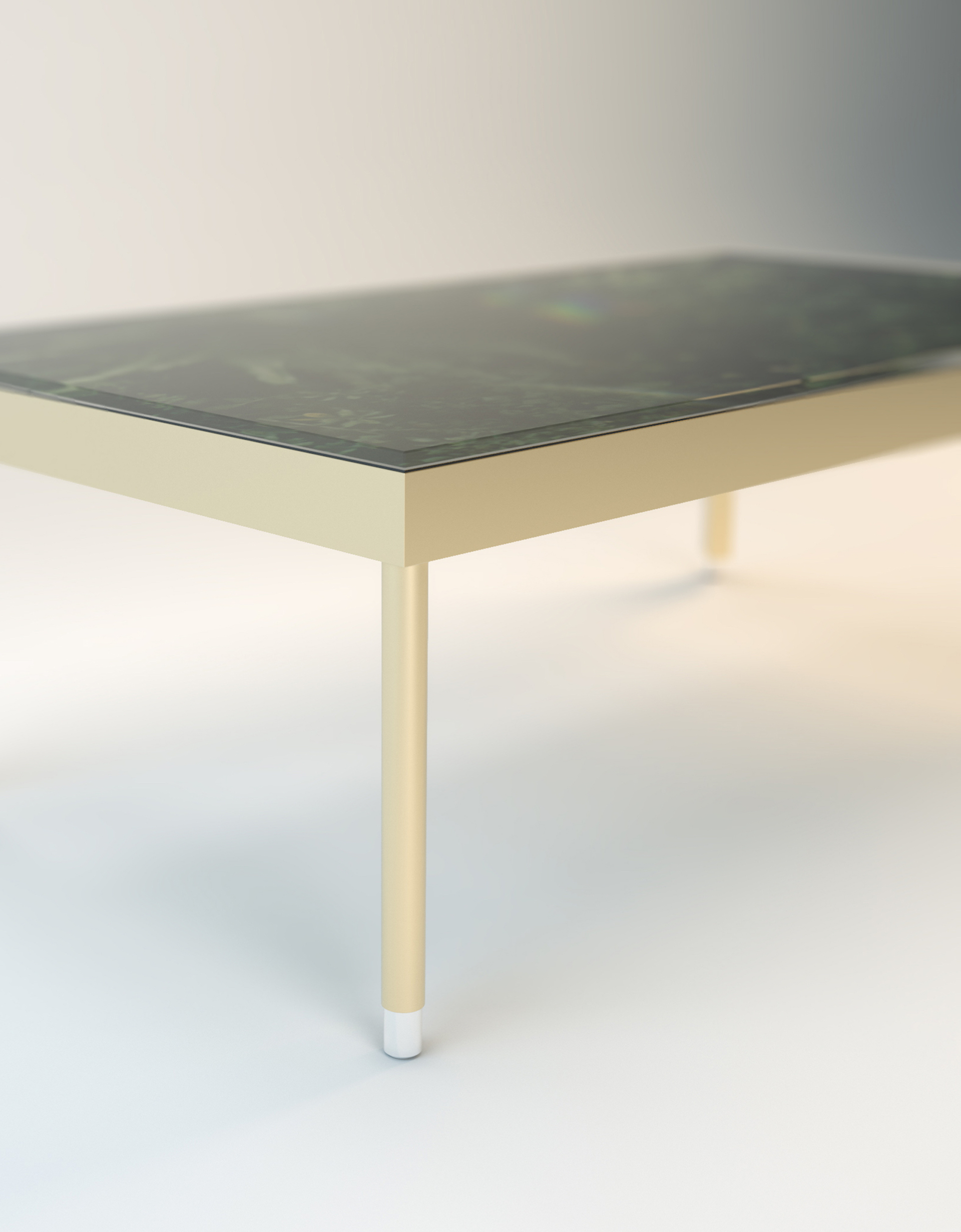 Water Resistant Table - Steel frame & feetSafety glass, 50 kg resistantNatural rubber