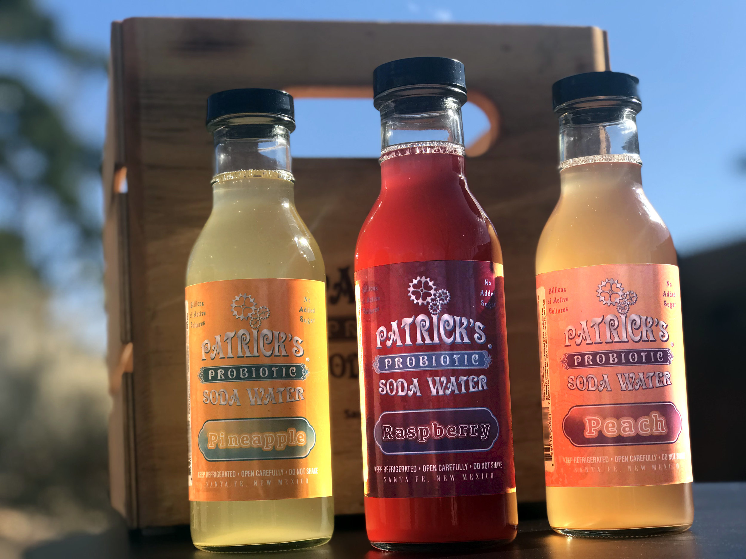 Patrick's Probiotic Soda Waters