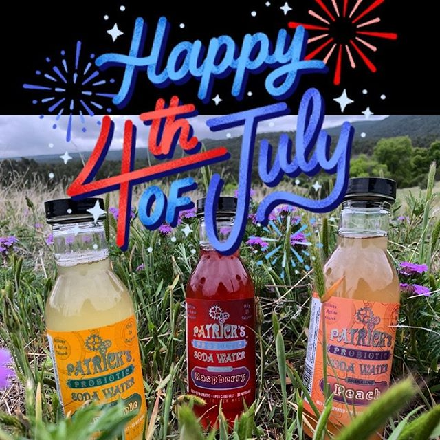 Happy Healthy & Safe Fourth of July from all of us at Patrick's! 🇺🇸 😊 . . . #4thofjuly #funtimes #holiday #outside #bbq #happyhealthy #instasummer #summertime #probiotics #fourthofjuly