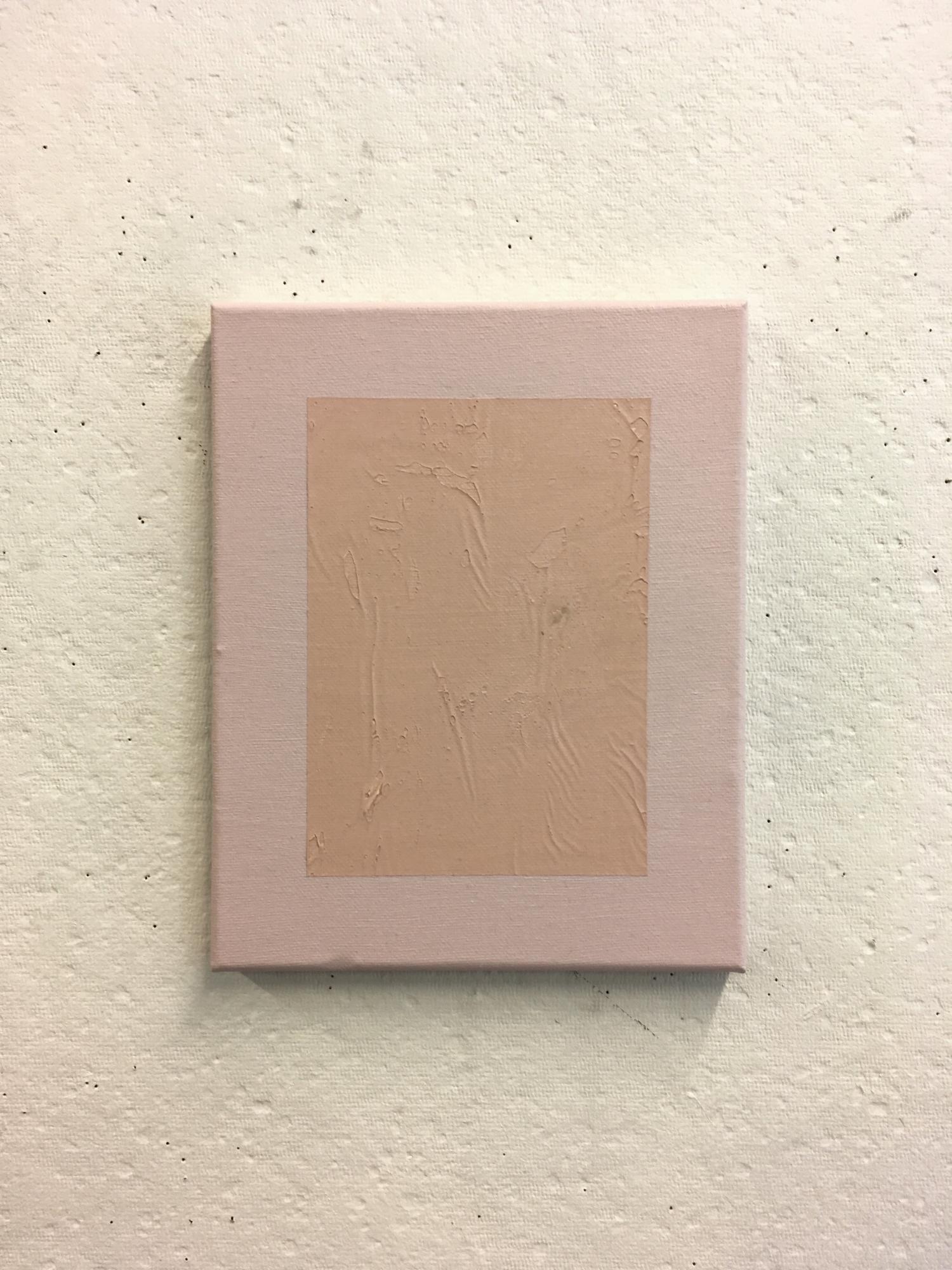 """Pink on Paler Pink, 8""""x10"""""""