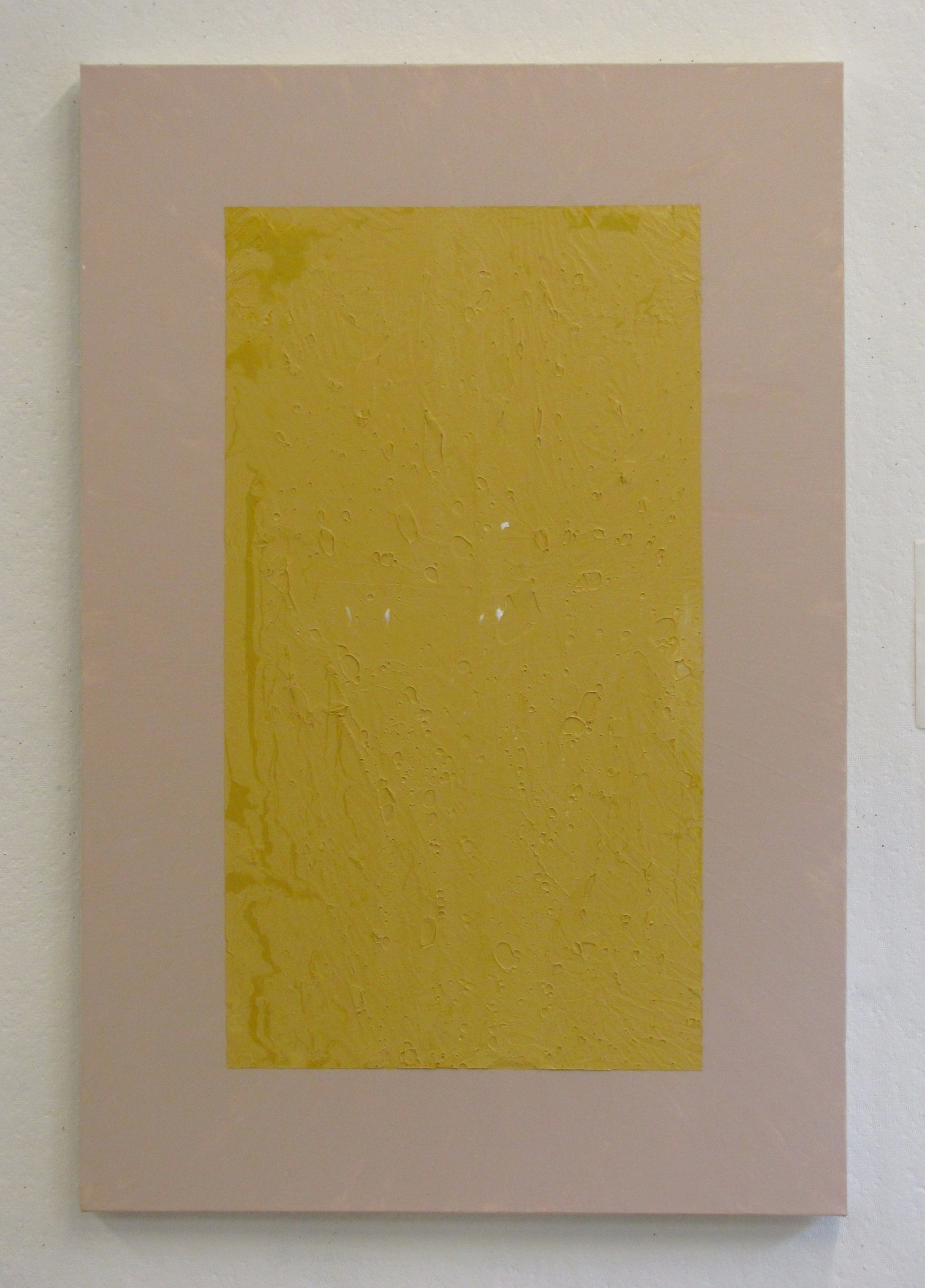 """Marbled yellow on tan, 24""""x36"""""""