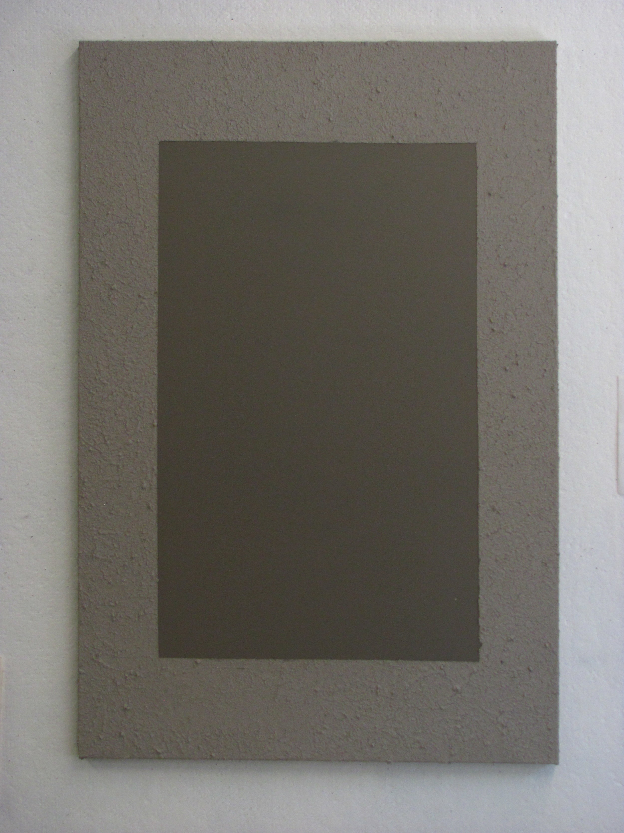 "Sandy light grey around dark grey, 24""x36"""
