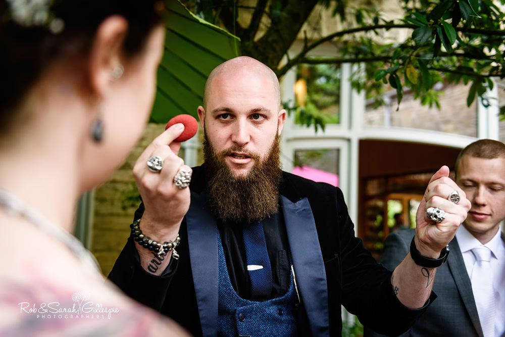 Josh Brett Close Up Magician Deceptive Arts