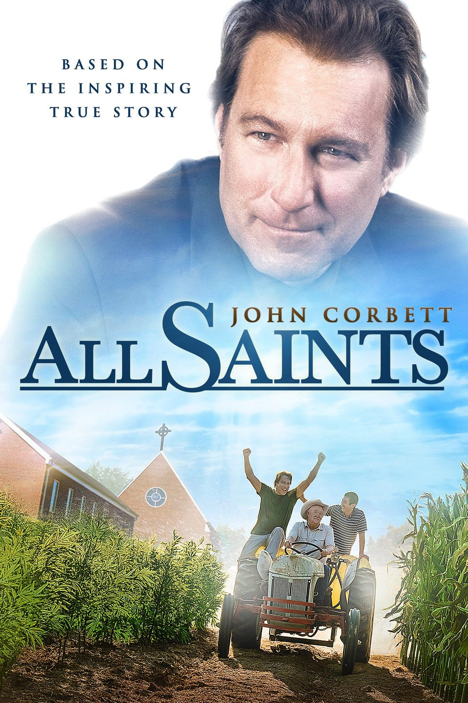 All Saints Part 2 - March 20    Michael Spurlock decides to trade in his corporate sales career to become a pastor. Unfortunately, his first assignment is to close a country church and sell the prime piece of land where it sits. He soon has a change of heart when the church starts to welcome refugees from Burma. Spurlock now finds himself working with the refugees to turn the land into a working farm to pay the church's bills.
