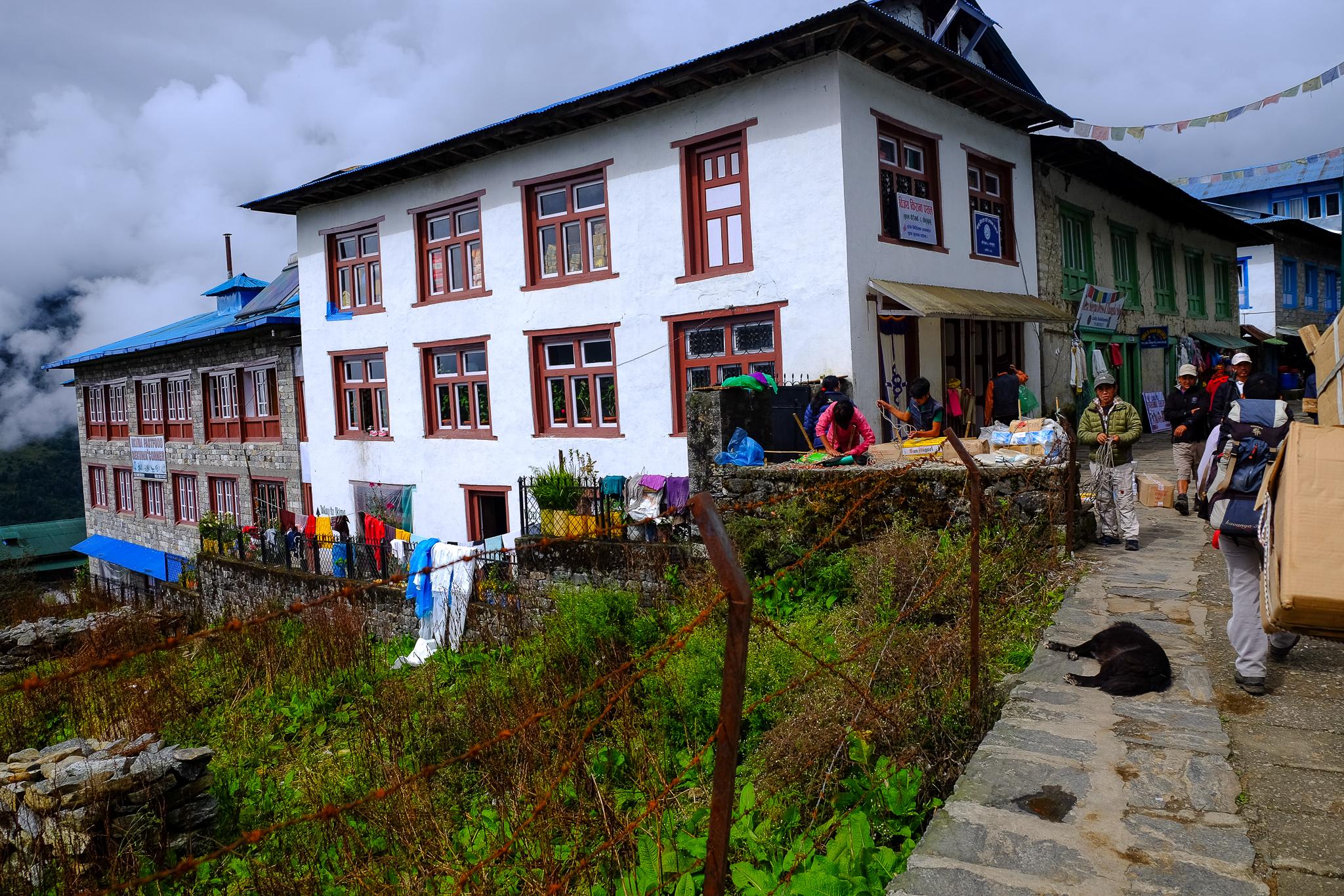 The village of Lukla