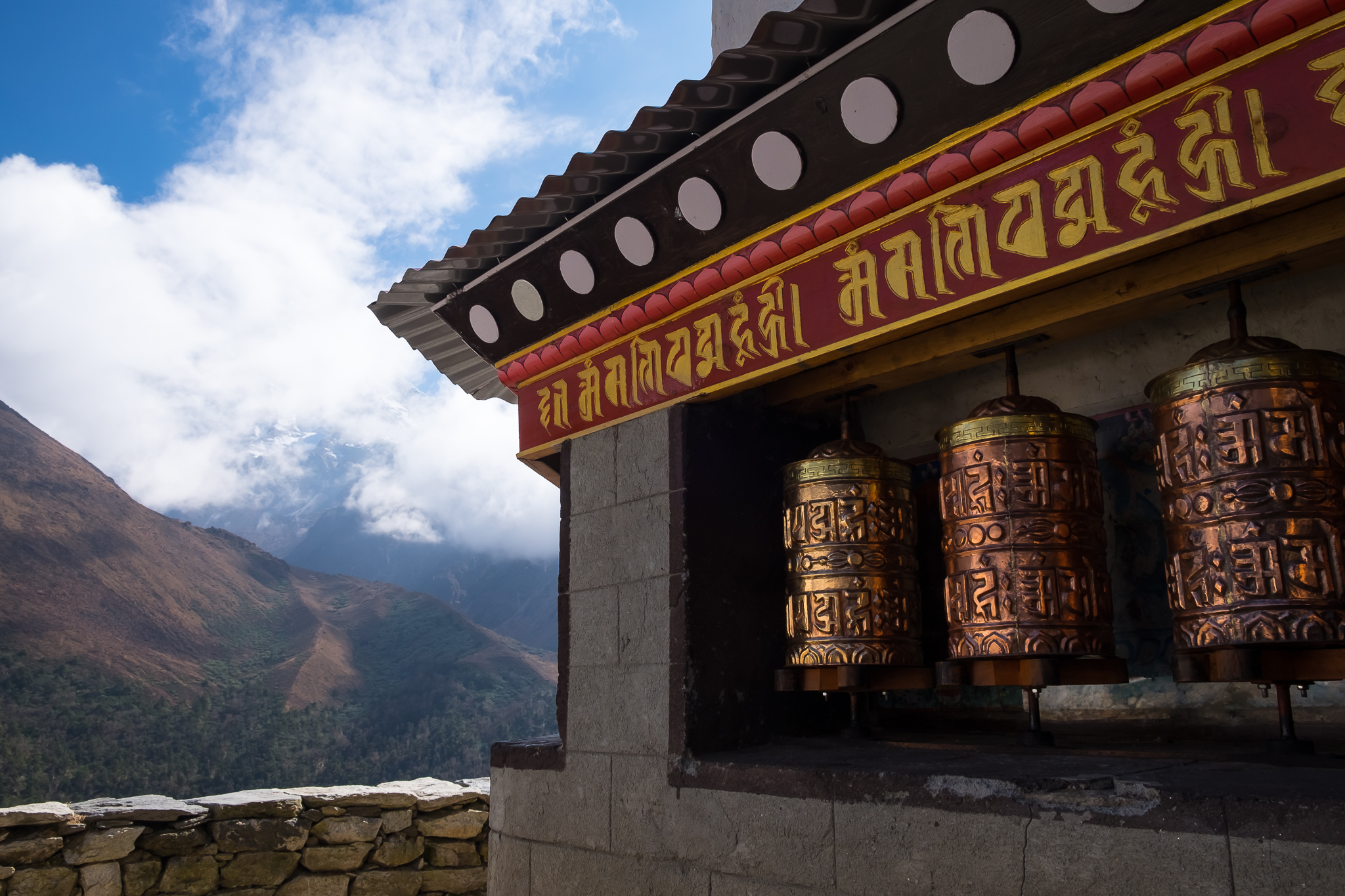 Monastery at Pangboche