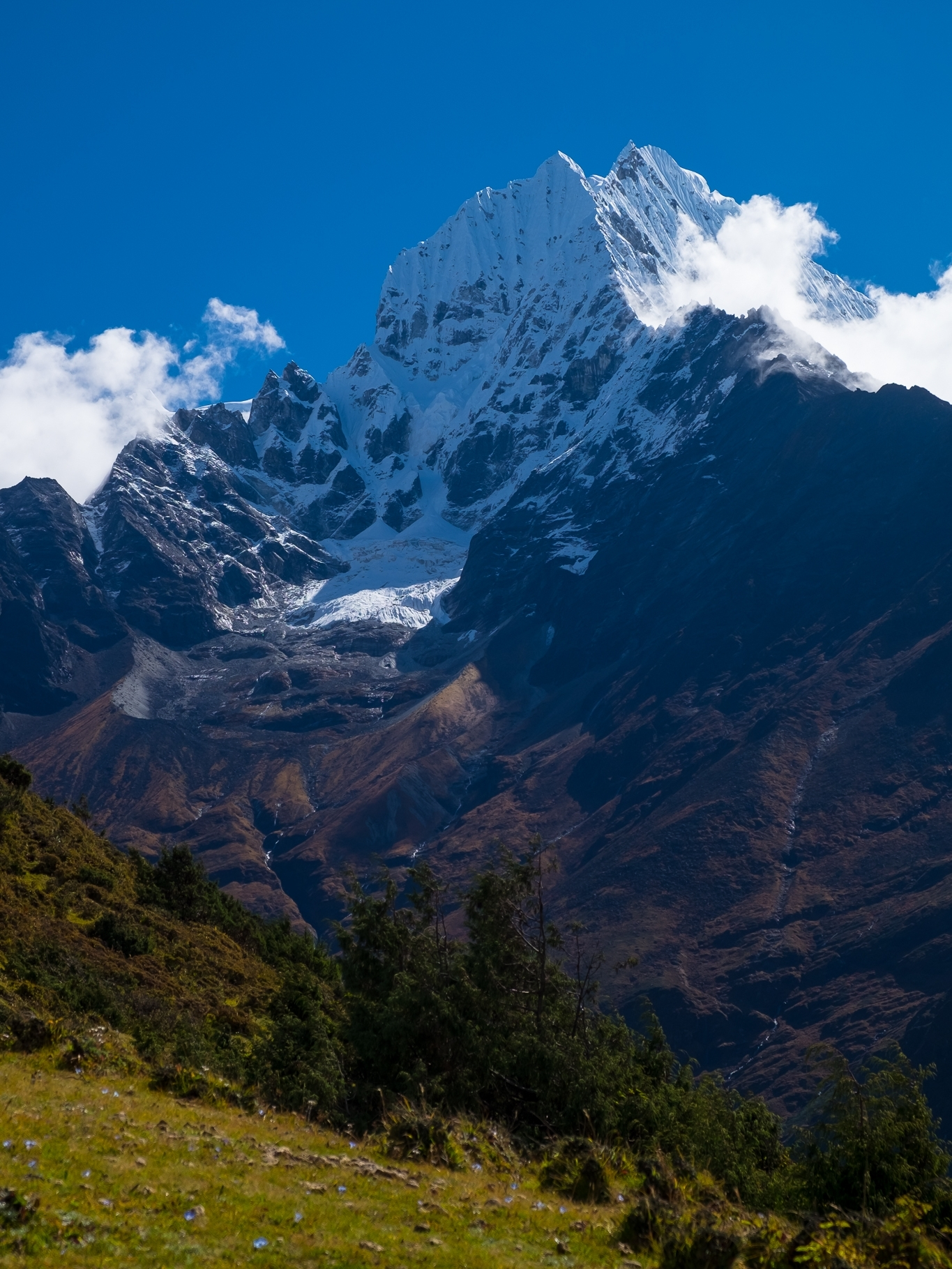 The dark side of Ama Dablam