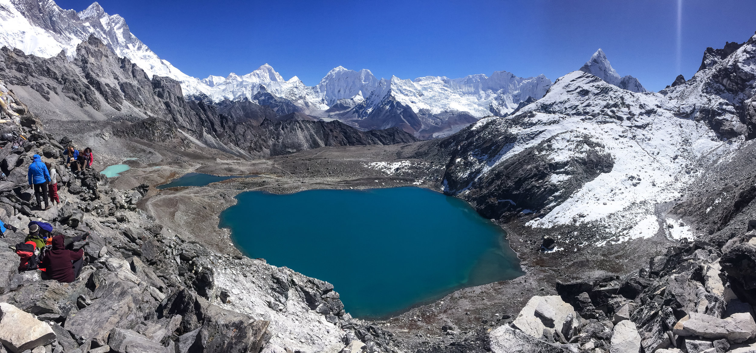 Google Map says the lake is called 'Kongma La Pass Lake'~
