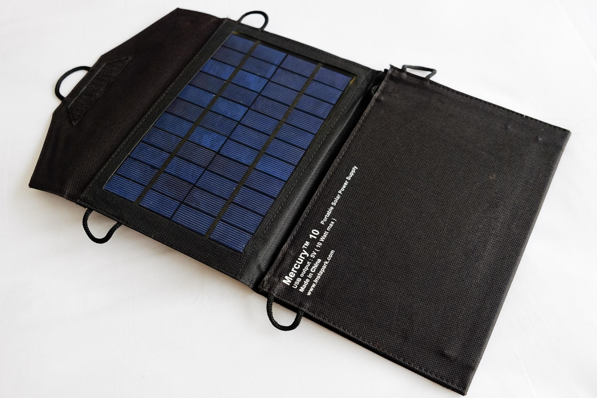 InstaPark Mercury 10W Portable Solar Charger