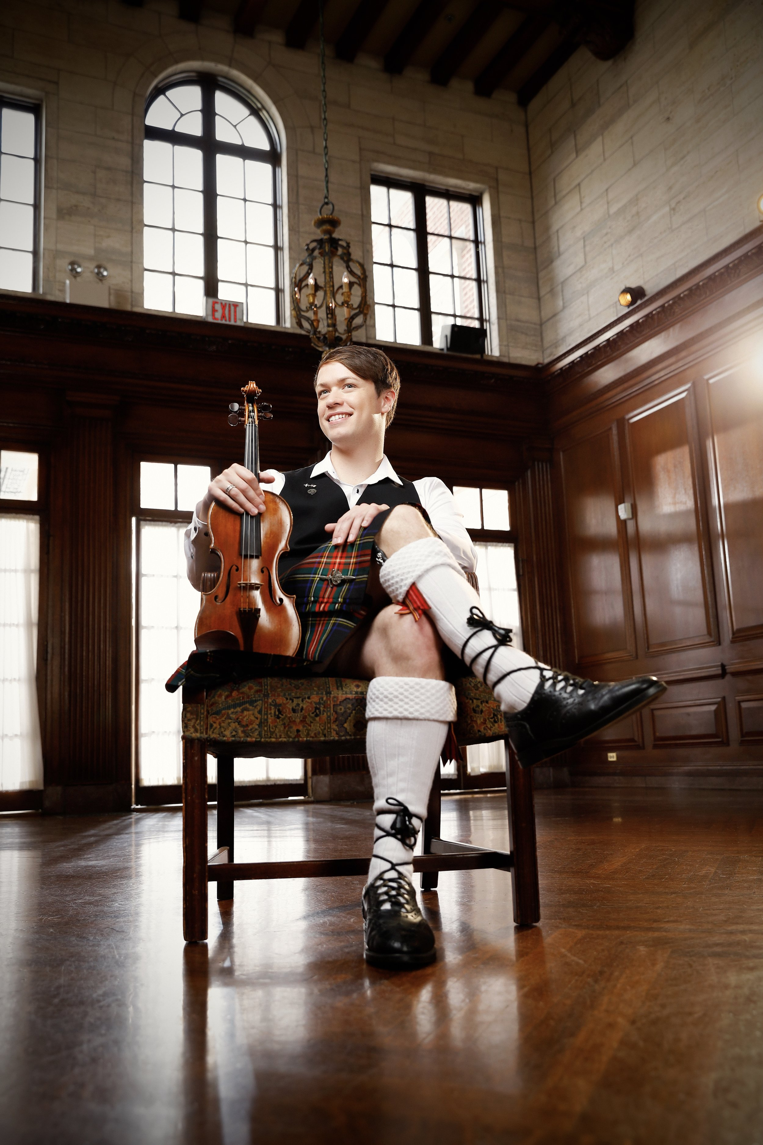 Seán Heely - Violinist  Artist-in-Residence - Strathmore