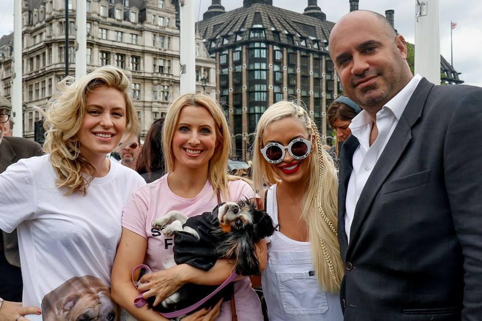 Pup Aid in Parliament Jodie Marsh