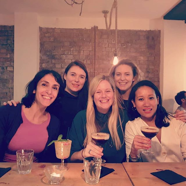 Out in London Town with these four wondrous women this evening. Thanks so much for making my birthday so special. I am a very lucky lobster. Love you all so much 😘 xxx