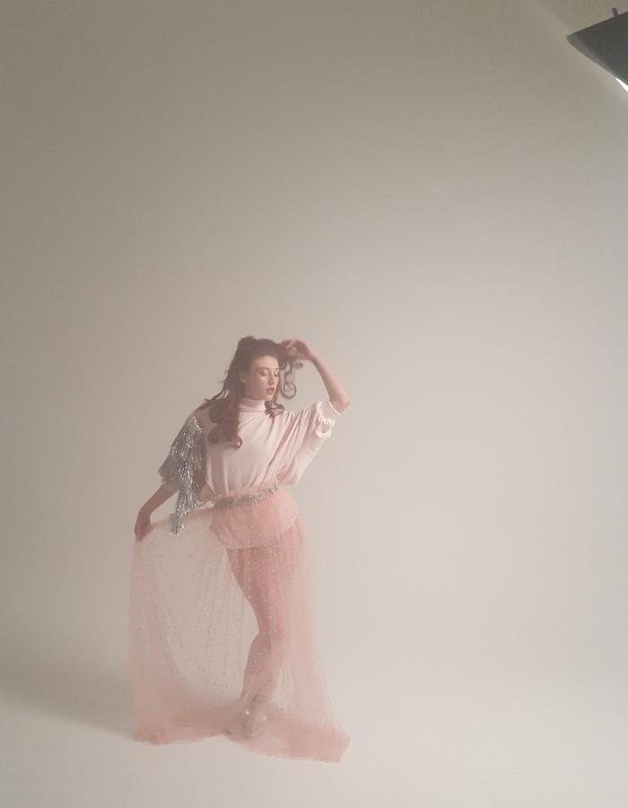 Britain's Next Top Model, Anastasia Ellis, in action