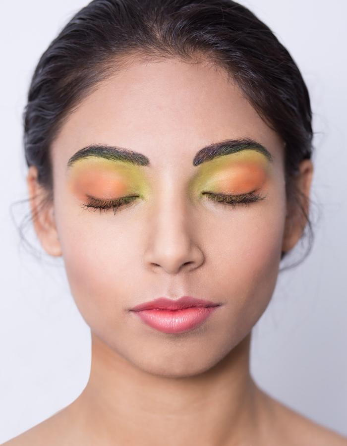 Makeup for Swimwear Shoot