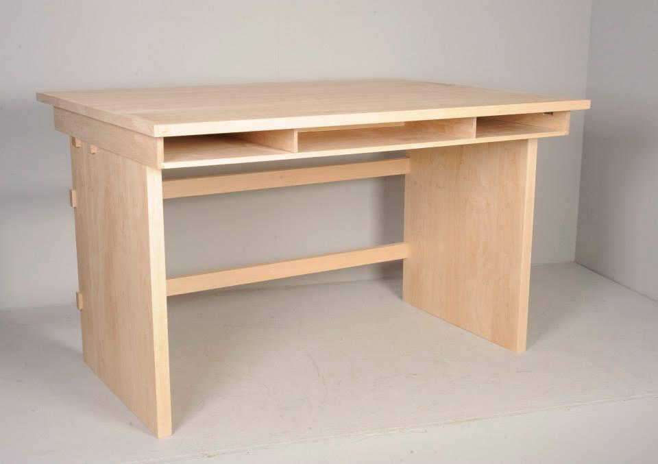 Copy of Maple wood office desk