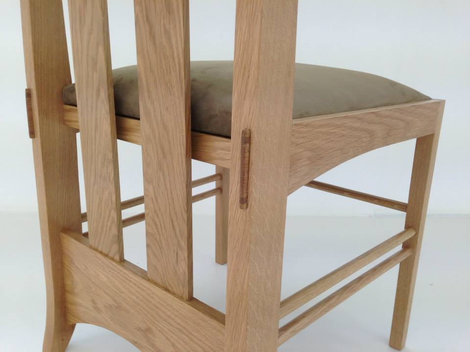 Copy of Oak dining chair