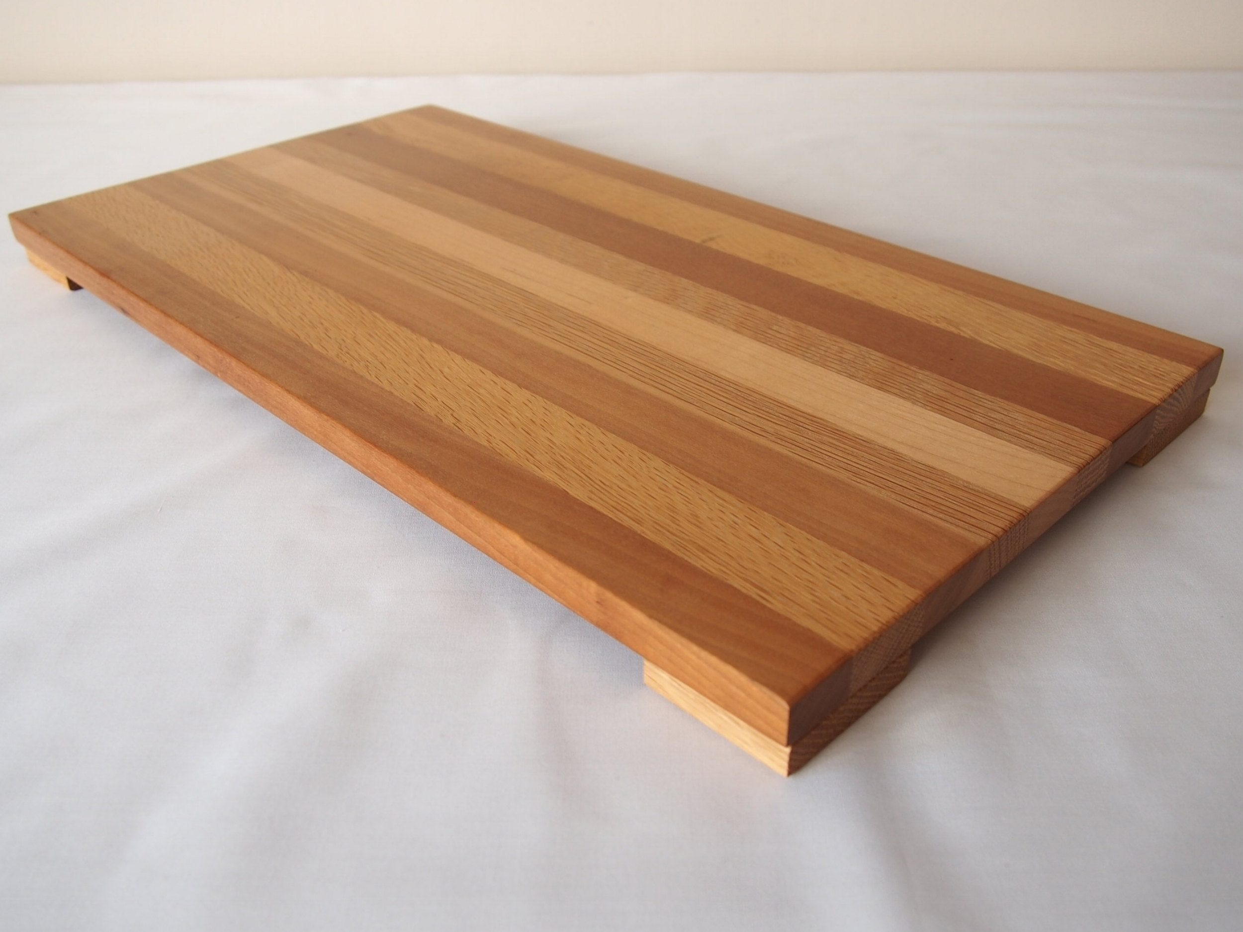 Cherry, Maple and Oak Display stand